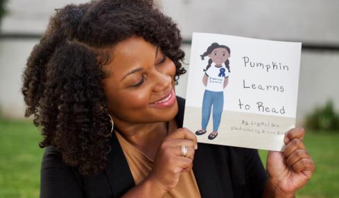 Crystal Gix 'Pumpkin Learns to Read.'